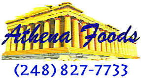 Athena Foods Logo - Southfield Michigan